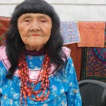 mujer shipiba, en marco del proyecto  de visivilización   en lima metropolitana