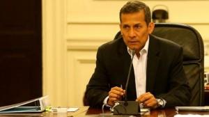 """""""Estoy esperando los informes de las carteras de Energía y Minas, Del Ambiente, Economía y Finanzas, y Justicia y Derechos Humanos"""", refirió Ollanta Humala el último domingo. (Foto: El Comercio)"""