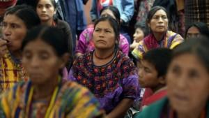 Los pueblos indígenas son el 42% de la población guatemalteca, según datos oficiales. Foto/AFP.