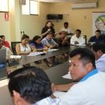 Alcalde de Purús (Ucayali) aprovechó la presentación del Programa Juntos para solicitar al Gobierno mayor atención para las comunidades nativas. (Foto: Difusión)