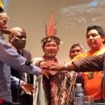 Importante es la presencia de los asháninkas del Vraem en las conferencias de la COP21.