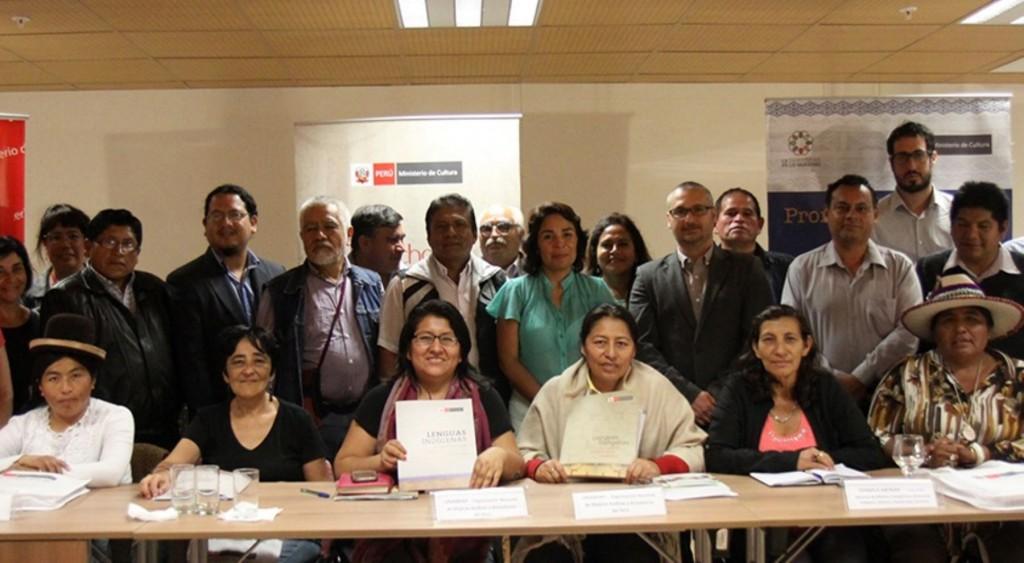 El Ministerio de Cultura inició esta semana la etapa de publicidad del proceso de consulta previa de la propuesta de Reglamento de la Ley de Lenguas Indígenas u Originarias (Ley N° 29735), al entregar copia de dicho documento a las organizaciones indígenas nacionales.