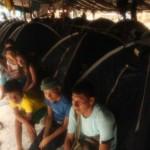 Serías 42 las comunidades afectadas por el derrame de petróleo registrado el pasado 25 de enero en el kilómetro 441 del Oleoducto Norperuano, en la localidad de Chiriaco, en Amazonas. (Foto: Alessandro Currarino / El Comercio)