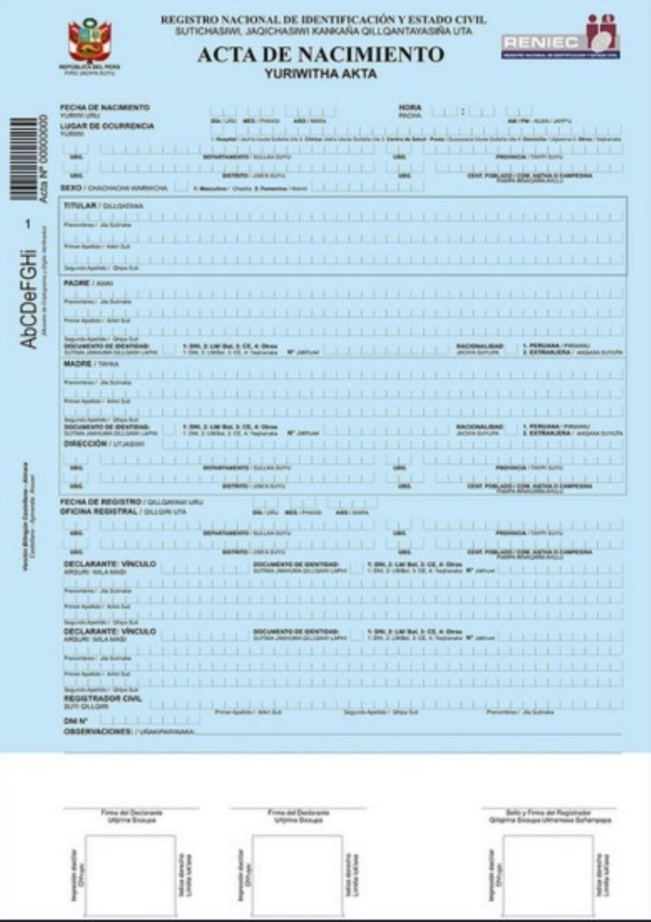 Registro Civil Bilingüe se extiende para pobladores wampi de ...