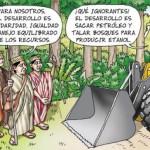 (Caricatura: Carlín, Diario La República)