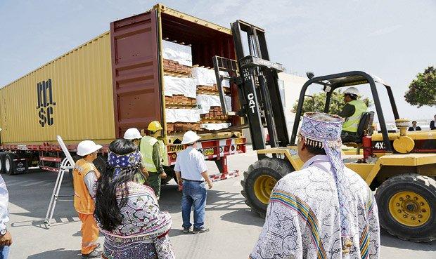 Al rededor de 400 familias se verán beneficiadas con esta exportación.