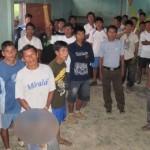 Nativos de comunidad Yutupi alarmados por posible rebrote de tifoidea. | Fuente: RPP | Fotógrafo: Jacob Rivera