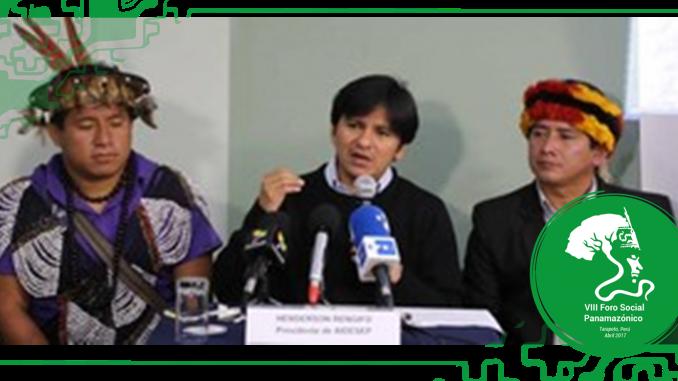 """Perú: Indígenas amazónicos califican de """"anti indígena y anti amazónico"""" la candidatura de Keiko Fujimori y convocan a dialogar a PPK"""