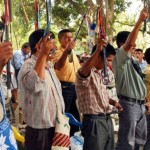 Al menos 8 trabajadores están retenidos. Foto: La República