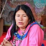 Olinda es heredera del saber de sus ancestros. Foto: Ángel Chavez.
