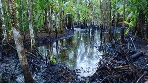 Derrame de petróleo en datem Marañón afecta a un promedio de mil personas. | Fuente: Referencial: prevencionar.com