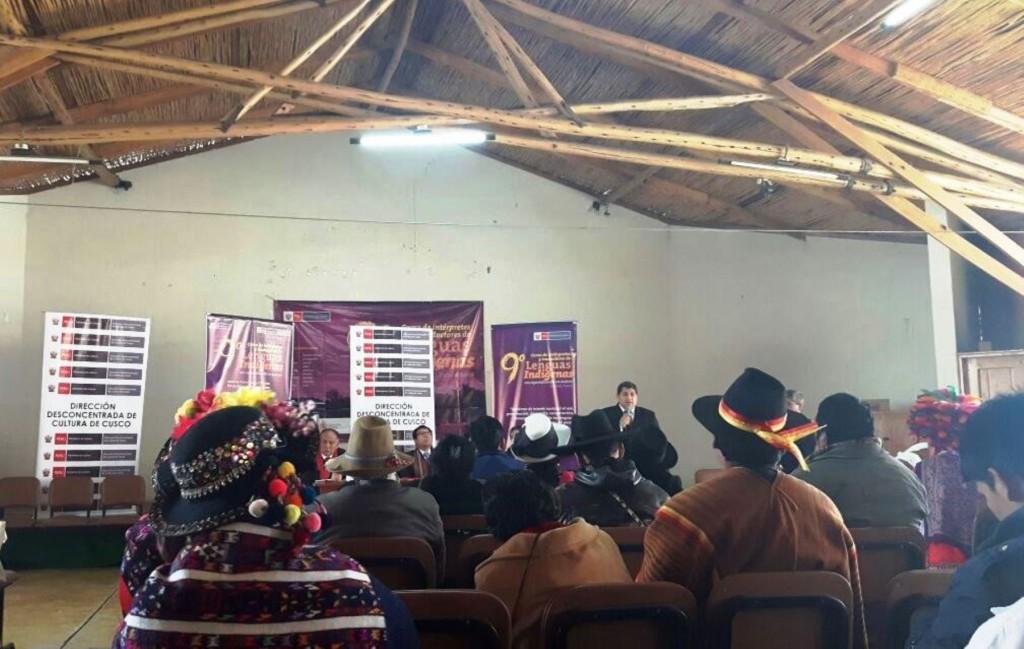 Ministerio de Cultura forma intérpretes y traductores en lenguas indígenas.