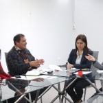 Ministra de Desarrollo e Inclusión Social, Cayetana Aljovín, y funcionarios de su sector, se reunieron con líderes de las comunidades de la etnia Wampis.