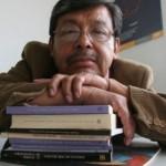 El poeta nahua Natalio Hernández dijo que el encuentro busca sensibilizar a la humanidad sobre la crisis ambiental en el planeta | Foto: Alejandro Saldívar