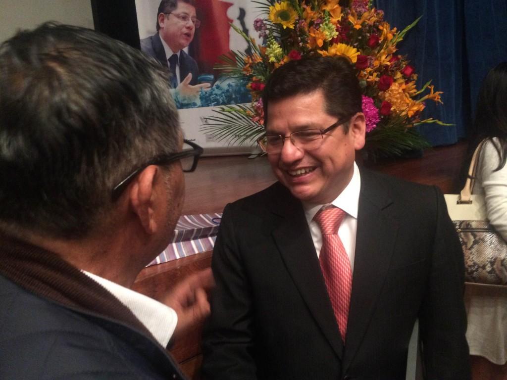 Eduardo Vega Luna ocupó el cargo de Defensor del Pueblo por cerca de cinco años y medio. Foto: Jonathan Hurtado.