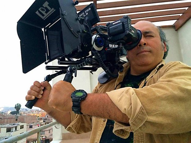 Fernando Valdivia es director de Escuela de Cine Amazónico, comunicador social y documentalista. Ha realizado trabajos en América Latina, en Africa y Asia. Foto: Facebook Fernando Valdivia.