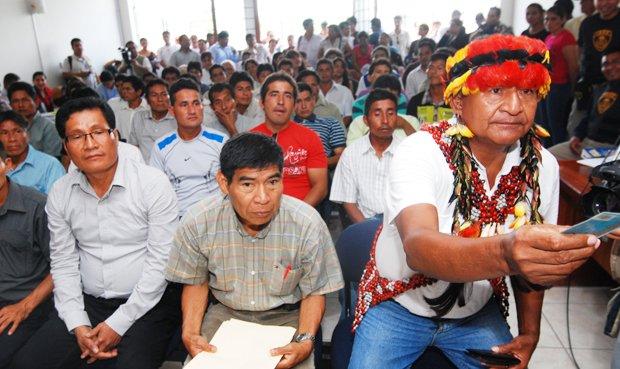 En los enfrentamientos en Bagua murieron 23 policias y 10 manifestantes indígenas. Foto: La República