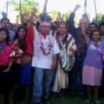 Cerca de 3.000 indígenas se han concentrado en Saramurillo (Foto: Archivo/ El Comercio)