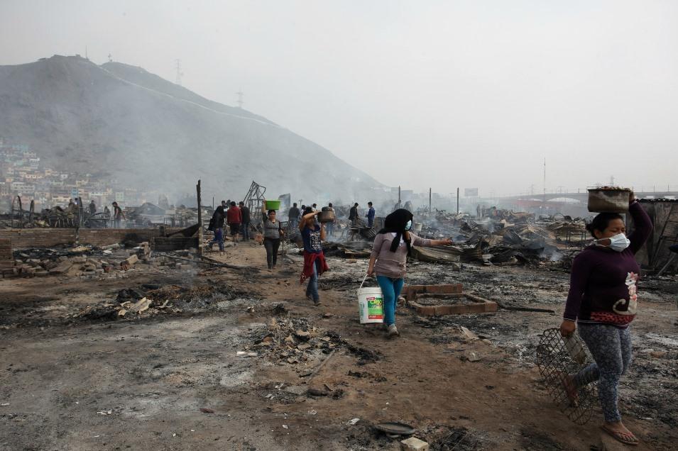 Coordinadora de DDHH sobre incendio en Cantagallo: Luis Castañeda Lossio es el responsable político