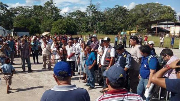 El representante de PetroPerú dijo que no iniciará acciones legales por lo acontecido durante las protestas acatadas desde el pasado 1 de setiembre del 2016 en Loreto. (Foto: Daniel Carbajal)