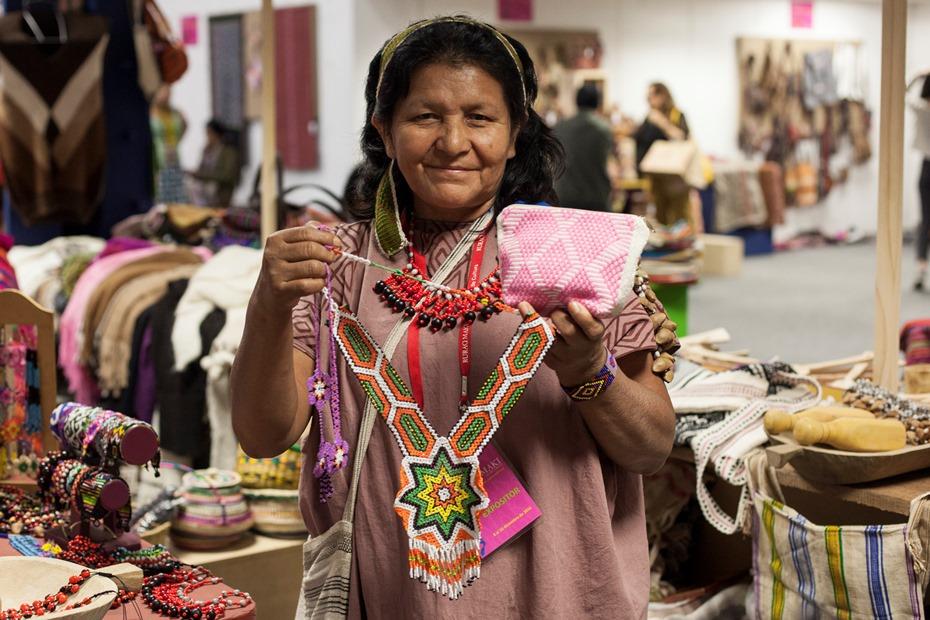 Flora Rodríguez Arauzo, de la comunidad asháninka de Pankirentsy, en Purus, región Ucayali. Foto: CAAAP