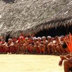 Encontro de Xamãs Yanomami. Foto referencial:  Beto Ricardo.