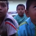 Los niños y niñas, los más vulnerables a todos los daños que se ocasionan a la Amazonía. Imagen: captura de pantalla del video Madre Río, Madre Tierra
