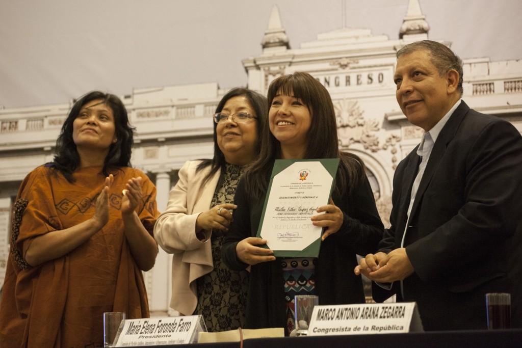 Mirtha Vásquez, destacada abogada ambientalista de Cajamarca
