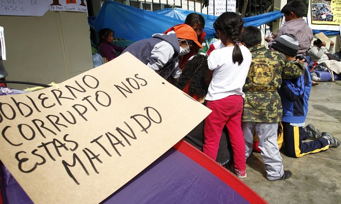 Exteriores del Minsa en Lima. Foto: Jorge Cerdán