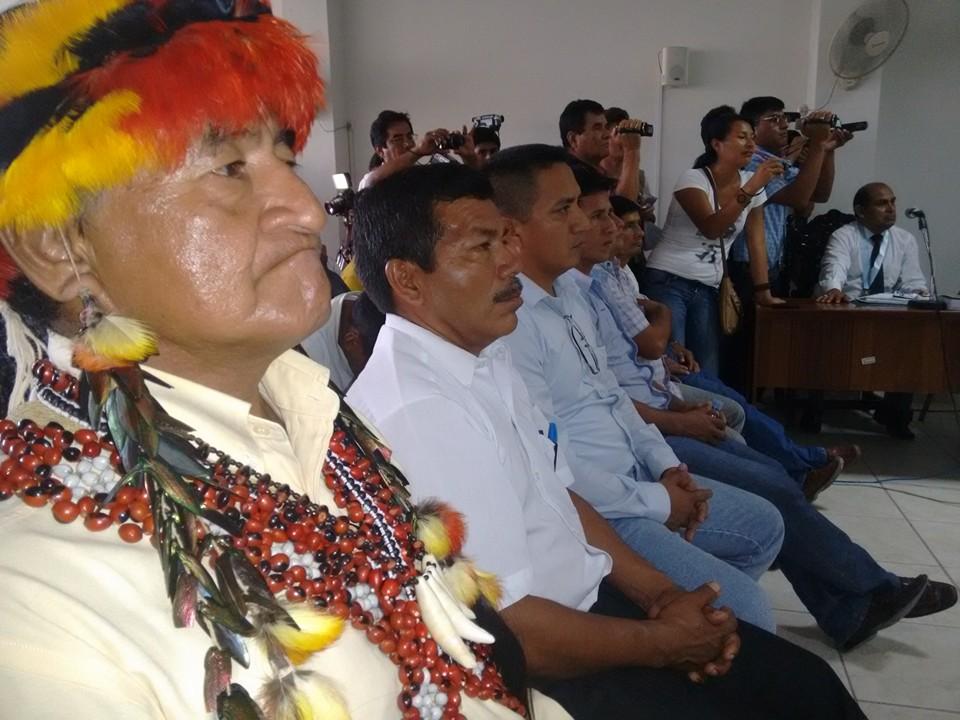 Procesados por el caso Curva del diablo. Foto: Observatorio  de Megaproyectos Perú