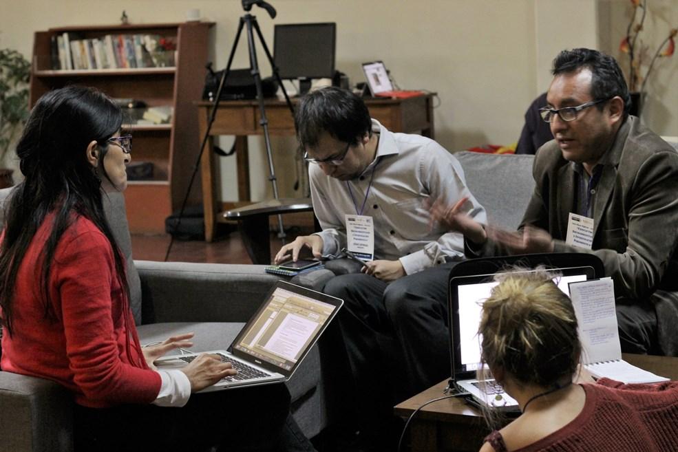 Primer taller macroregional se realizó en mayo con periodistas y comunicadores del sur del país. Foto: Fundación Mohme