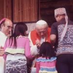 Así fue la visita del Papa Juan Pablo II a Iquitos, en la región Loreto. (Foto: Archivo El Comercio)