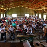 Asamblea en comunidad Porvenir. Foto: Puinamudt