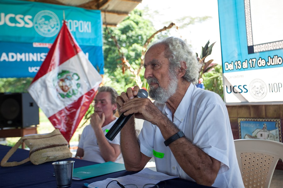 Antropólogo peruano Alberto Chirif. Foto: CAAAP