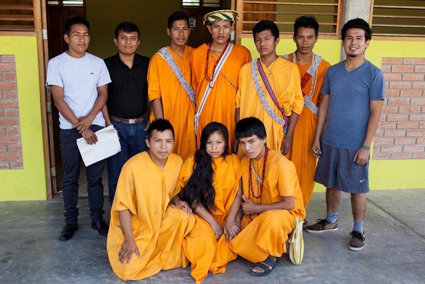 Estudiantes de nomatsigenga que participan en Tsiroti. Foto: CAAAP