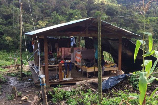 No cuenta con ningún servicio básico, un hospital o una carretera. Foto: Luis Borja.
