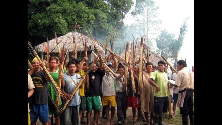 Pichari. Militares se llevaron a nativos para interrogarlos. Foto: La República.
