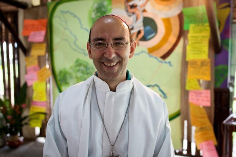 David Martínez de Aguirre Guinea, obispo del Vicariato Apostólico de Puerto Maldonado. Foto: CAAAP