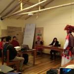 Los intérpretes y traductores realizan una importante labor en las instituciones que brindan servicios públicos. Foto: Ministerio de Cultura