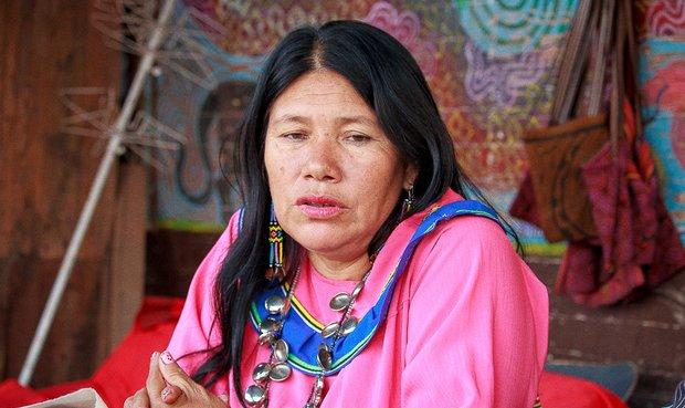 Olinda Silvano, reconocida artesana del pueblo Shipibo, estará mañana en el LUM. Foto: Ángel Chávez