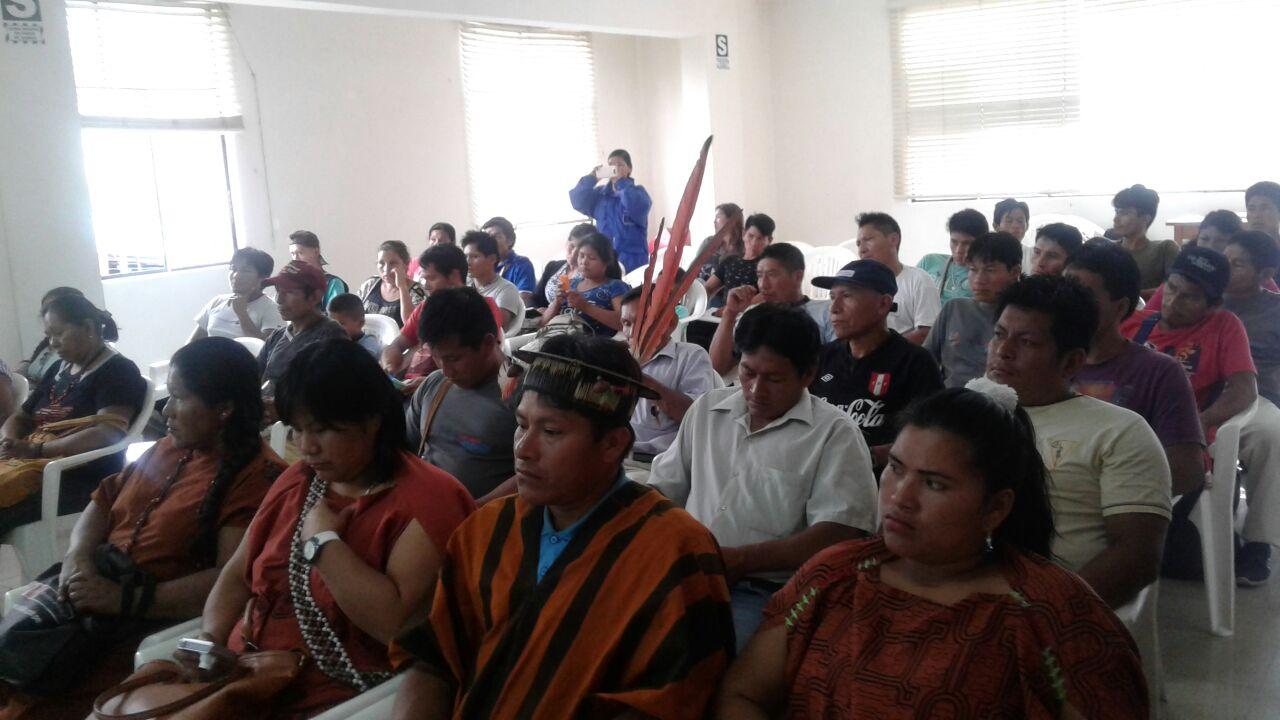 Taller Prevención y Resolución de Conflictos Socioambientales. Foto: Jimmy Mendoza Castro / CAAAP Selva Central