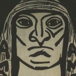 Ilustración del número 29 de la revista Amauta hecha por José Sabogal.