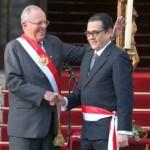 PPK y Enrique Mendoza, Ministro de Justicia. Foto: Correo