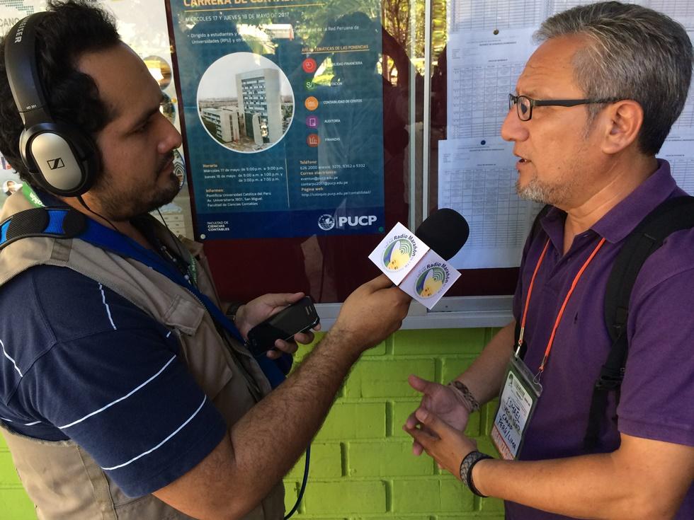 Ismael Vega, director del CAAAP, ponente del evento en Lima. Foto: CAAAP
