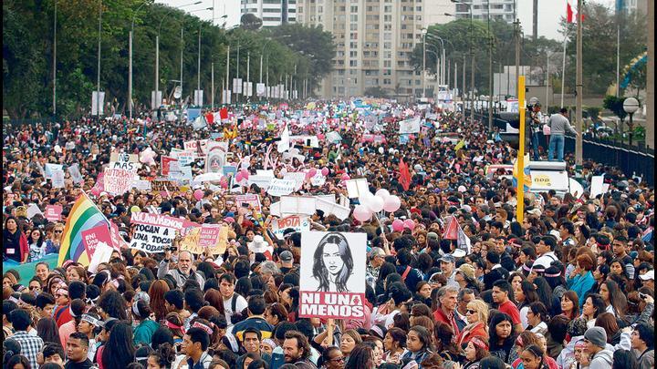 Unidas. A la marcha acudirán colectivos, grupos feministas y familiares de víctimas. Créditos: Renato Pajuelo