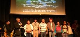 Cuatro Federaciones de Pueblos Indígenas recibieron el Premio Anual de Derechos Humanos 2017
