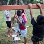 """Niños y niñas de la casa hogar """"El Principito"""". Foto: CAAAP"""