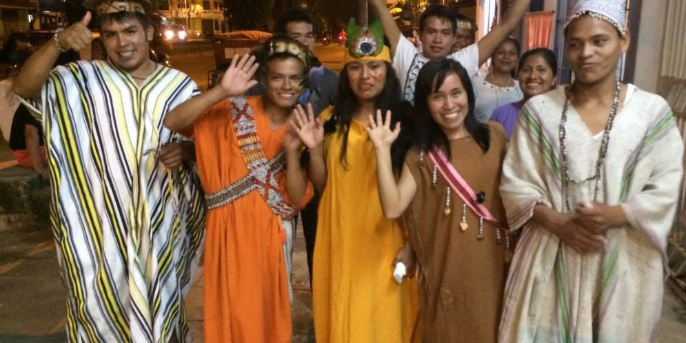 A todo motor: Comitivas indígenas llegan a Puerto Maldonado para encuentro con el Papa