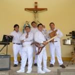 Sin Límites, banda nacida hace tres años en el penal San Francisco de Asís de Puerto Maldonado. Foto: Miguel Arreátegui Rodríguez
