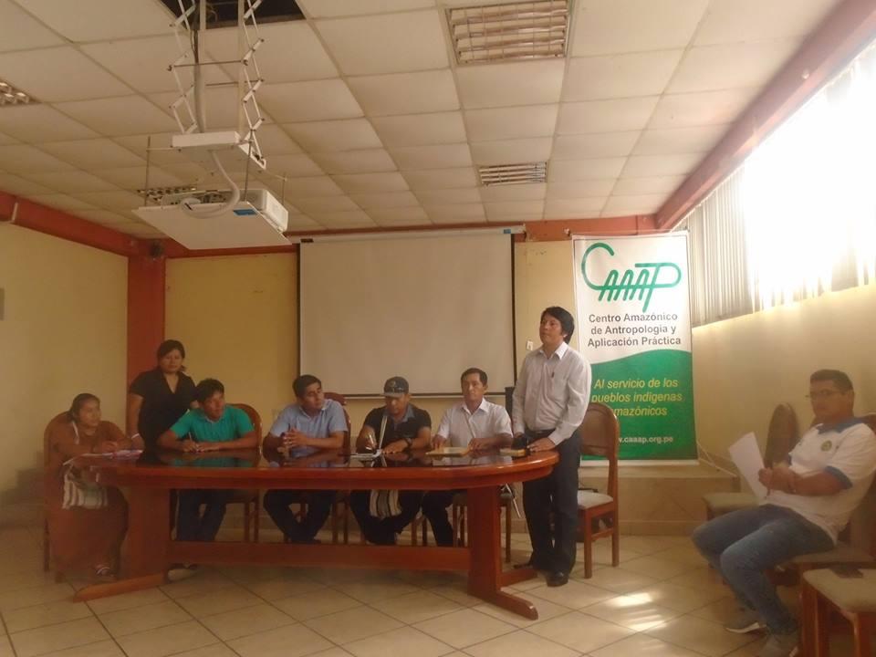 Foto: Sub Gerencia de Comunidades Nativas de Pichanaqui